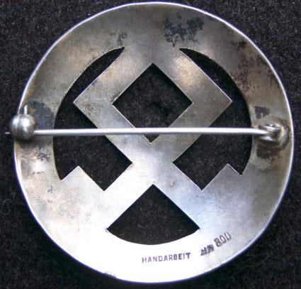 Ladies Brooch-NSDAP or SS