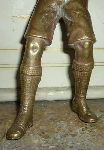 Hitler Eugen brass statuette?