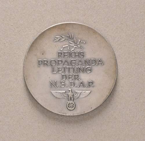 Third Reich Table Medal