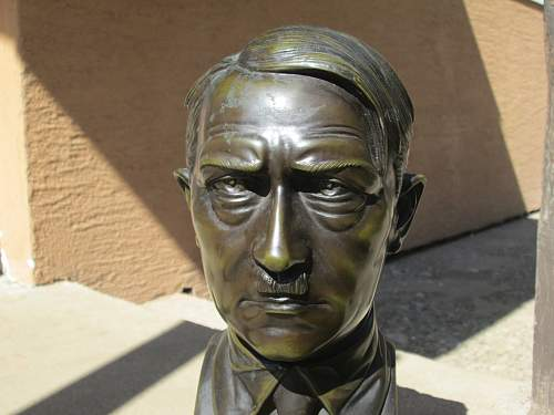 Adolf Hitler statue original 1933-1945 37cm high