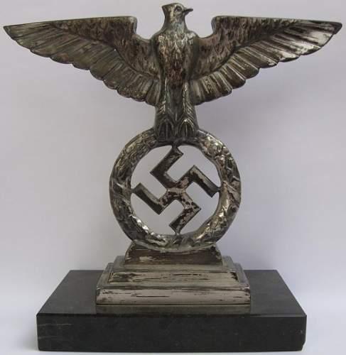 National Socialist eagle Mercedes Benz hood ornament original?