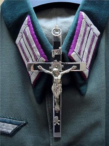 Army priest cross?