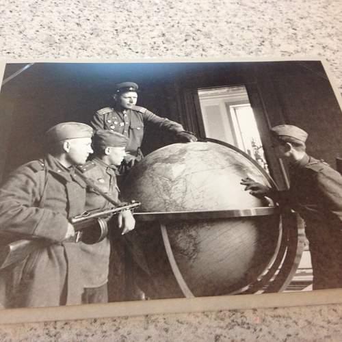 Von RIBBENTROP,  the great Columbus Globe