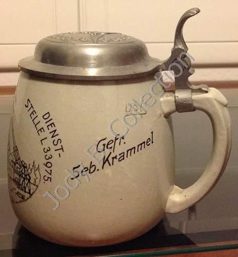My Luftwaffe Beer Krug