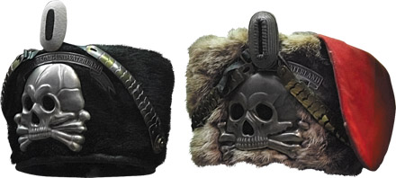 Name:  PRUSSIAN CAVALRY SKULL BADGES..jpg