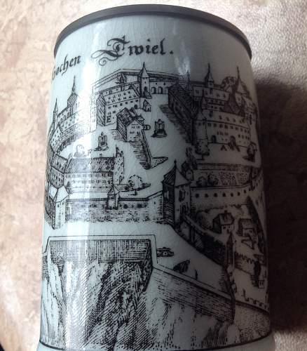 German castle stein - WW2 era ?