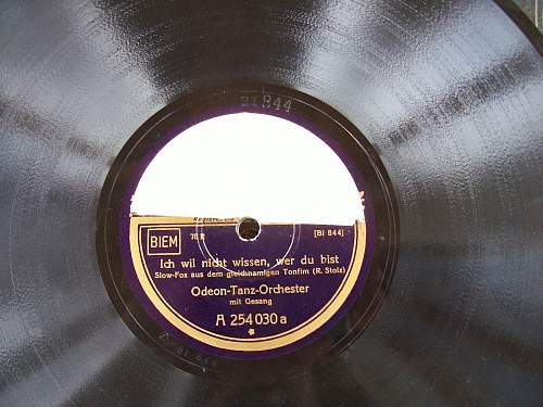 Schallplatten - 78 rpm record