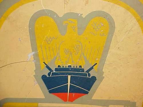 Kriegsmarine Painting?  Decal?