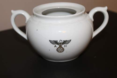 Adolf Hitler Sugar bowl