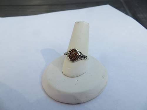 My first German ring
