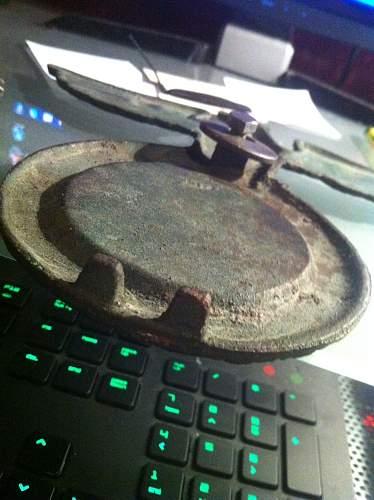 SA desk Eagle, repaired ?