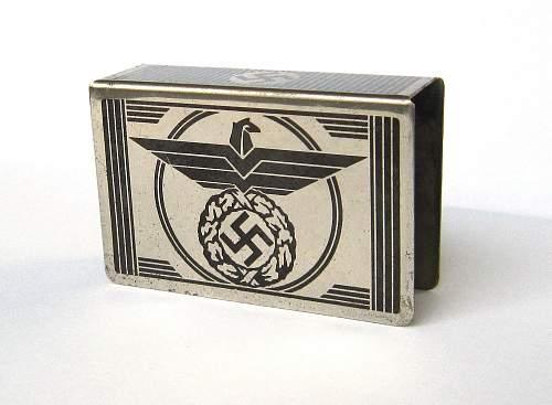 matchbox-holder