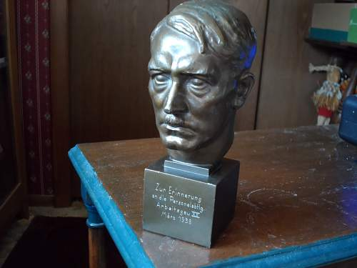 A.H. Bust for review