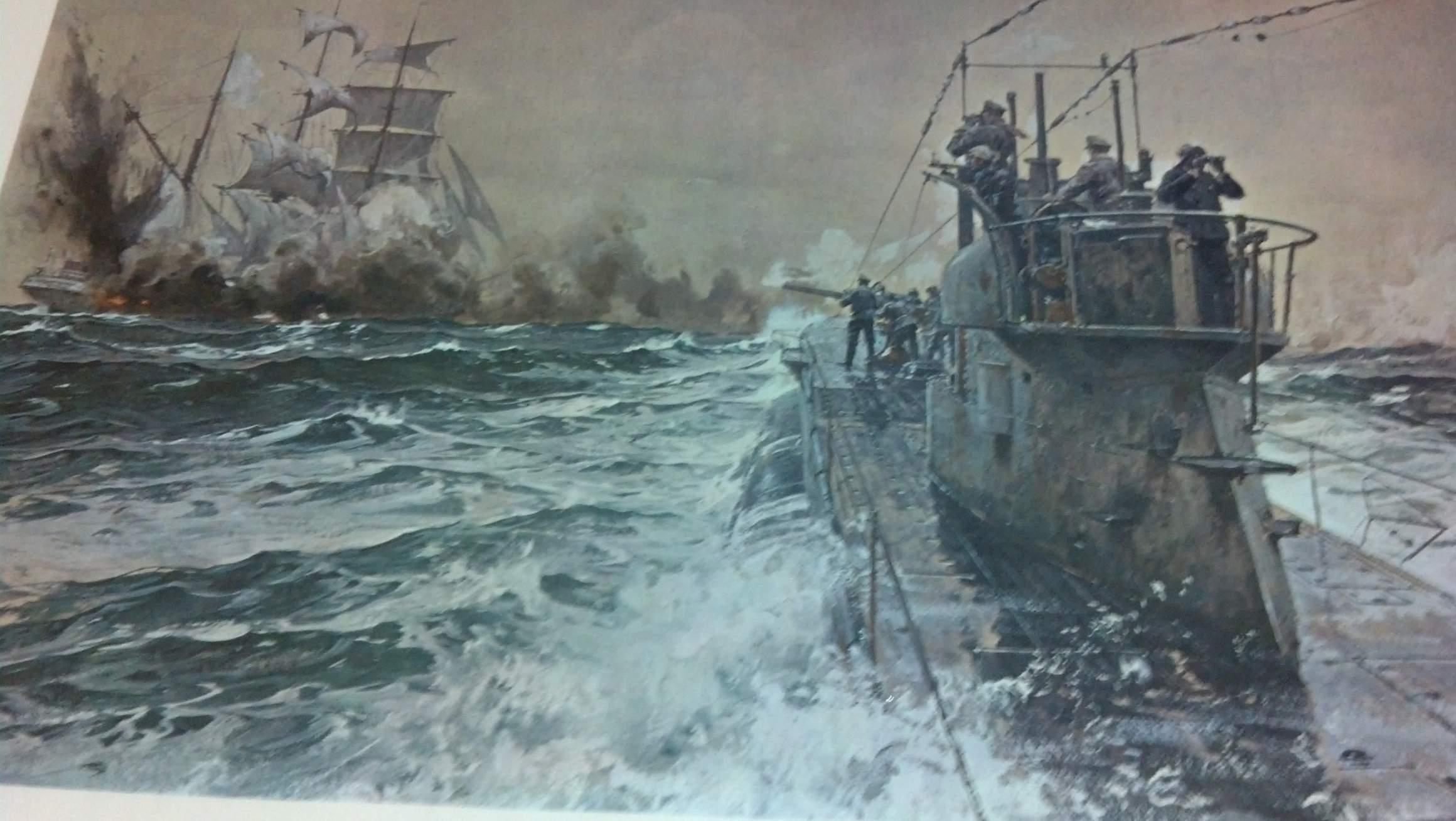 Uboats of WW1  forcespostalhistorysocietyorguk