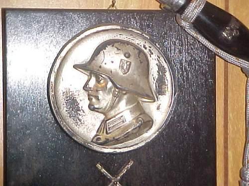 Helmet plaque - what is it from?