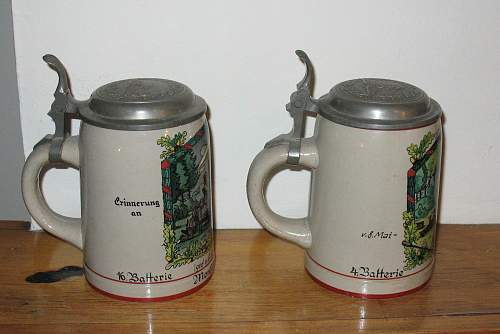 Click image for larger version.  Name:Beer Mugs -  IMG_1742.jpg Views:56 Size:242.8 KB ID:73852