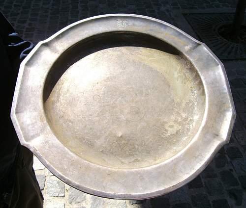Wellner silver plate platter recognition?