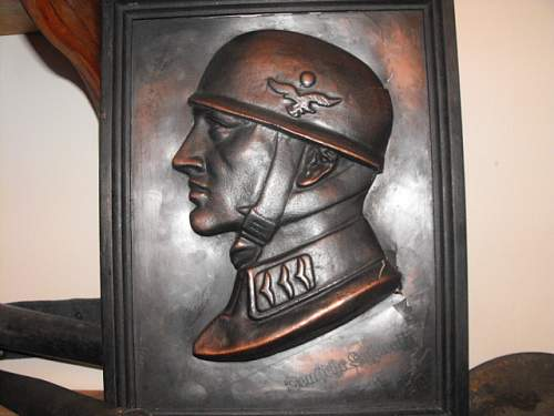 does anybody know if this luftwaffe item is fake please?
