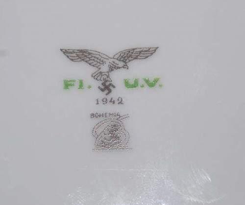 Luftwaffe KAMPFGESCHWADER 153 and 77 Plate