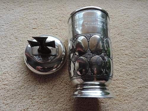 Ss presentation goblet, good or just another fake?