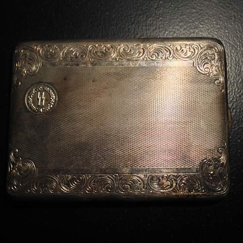 New Member-First post! SS dinnerware and cigarette case