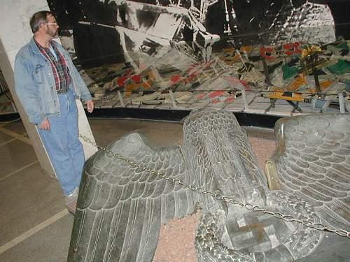 big bronze eagle