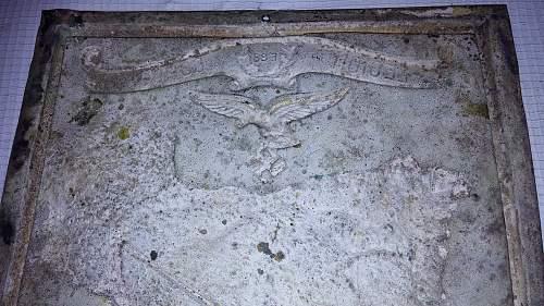 Luftwaffe Legion Condor plaque?