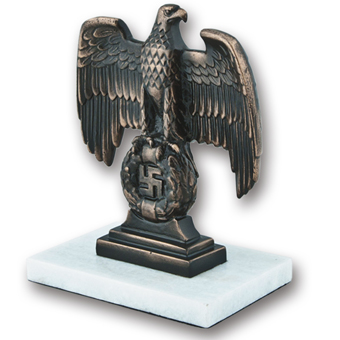 Bronze Third Reich Desk Eagle