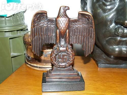 Bronze Third Reich Desk Eagle - Page 2