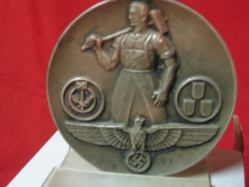 Commemorative Table Medal