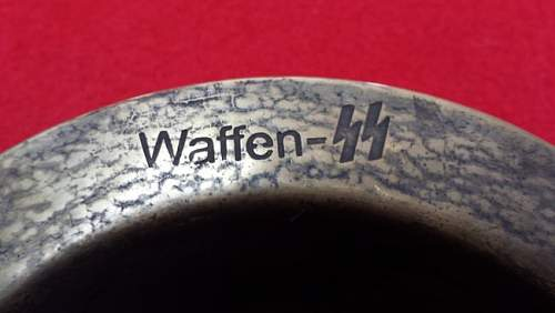 Waffen SS Ashtray in Classifieds?
