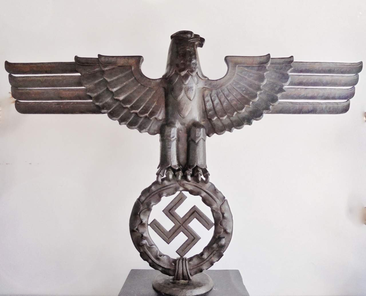 Need help huge hand forged iron eagle to identify huge hand forged iron eagle to identify buycottarizona Gallery