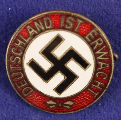 deutschland ist erwacht ... plaquette