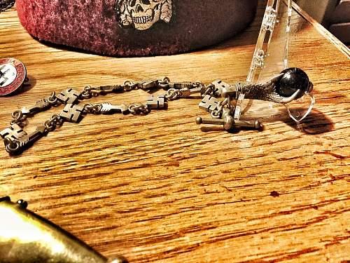 Swastika watch chain,fantasy