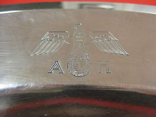Wellner Serving Tray w/ A.H. and Eagle