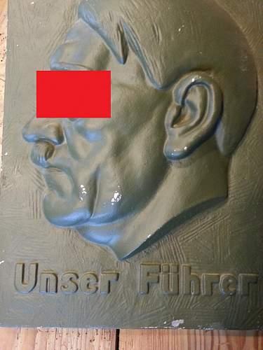 A.Hitler relief