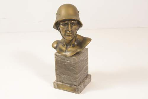 german ww2 bust authentic?????