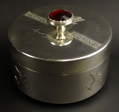 Hermann Goring presentation box
