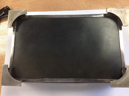 Adolf Hitler Silver Cigarette case