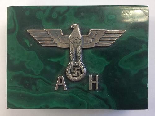 Adolf Hitler box