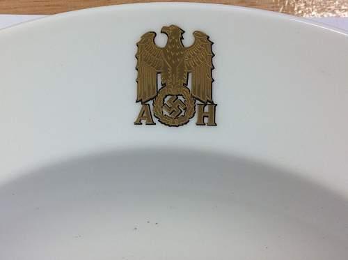 Adolf Hitler coffee set