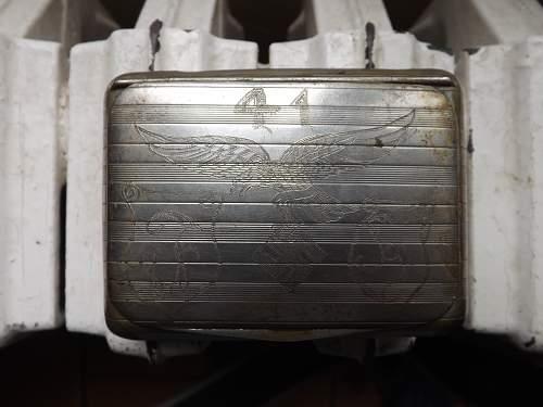Luftwaffe cigarettes case