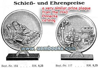 Nachrichten plaque - copper relief