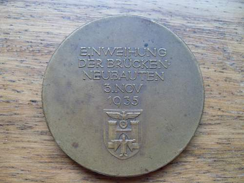 A cool Table Medal