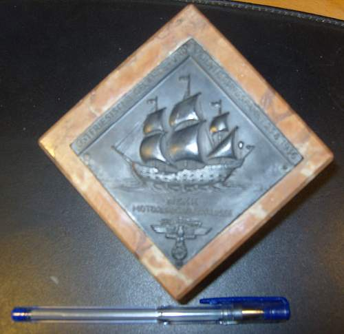 NSKK paper weight (possibly award)