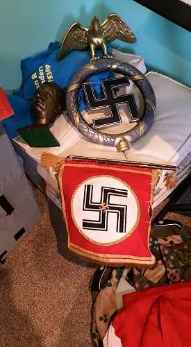 NSDAP Standarte Pole Top Copy...