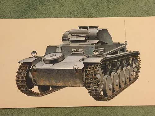 John Batchelor Panzer tank paintings