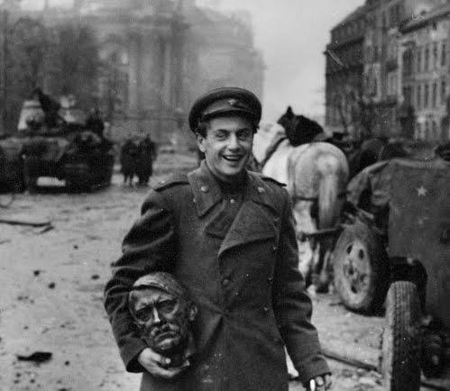 Hitler Bust from Berlin
