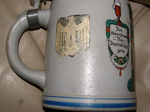 Nazi Beer Stein / French Occupation