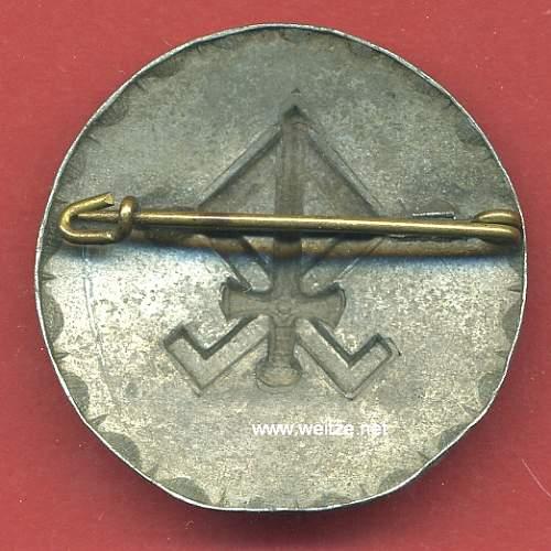 Odal Rune Brooch